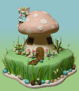 Admirable How To Make A Birthday Cake Look Like A Mushroom Blurtit Personalised Birthday Cards Beptaeletsinfo